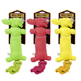 Multipet Loofa Launcher 12 in. Dog Toy I006996