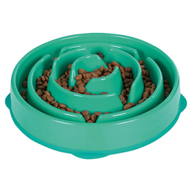 Outward Hound Fun Feeder Teal  I007311b