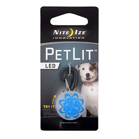 Nite Ize Innovation PetLit LED Blue Burst  I009145