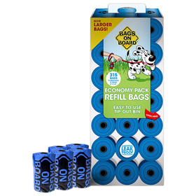 Bags on Board Economy Pack Refill Bags 315 ct 19299