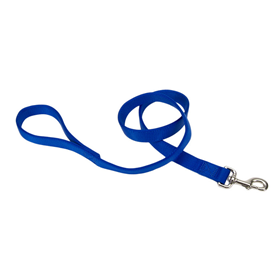 Coastal Double-Ply Dog Leash Blue  I012377b