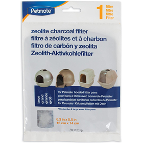 Petmate Zeolite Charcoal Filter for Large Hooded Litter Pan 7832