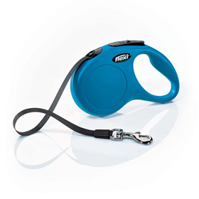 Flexi Classic Retractable Tape Leash Blue  I000529b