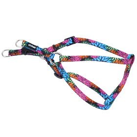 "Coastal Li'l Pals Comfort Wrap Adjustable Dog Harness Wild Flower 5/16"" x 8""-14"" I006210"