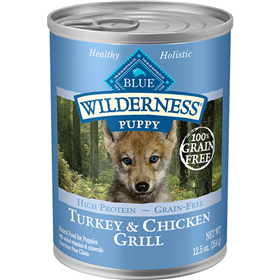 Blue Wilderness Puppy Turkey & Chicken Grill 12.5 oz I006570