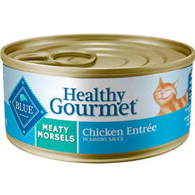Blue Buffalo Healthy Gourmet Meaty Morsels Chicken Entree for Cats 5.5 oz. I006759