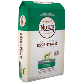 Nutro Wholesome Essentials Senior with Pasture-Fed Lamb & Rice 30 lbs. I007772