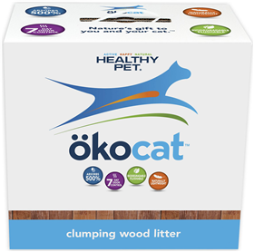 Okocat Super Soft Clumping Wood Cat Litter  I008529b