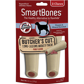 Smartbones Butcher's Cut Long Lasting Mighty Chew Large 2 pack I011102