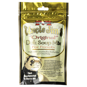 "Marshall Uncle Jim's ""Original"" Duck Soup Mix for Ferrets 4.5 oz  I011782"