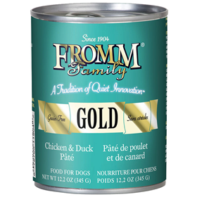 Fromm® Family Gold Chicken & Duck Pâté Can Food for Dogs I012034