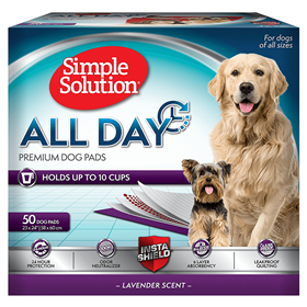 Simple Solution All Day Premium Dog Pads  I012865b