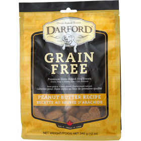 Darford Grain Free Peanut Butter Recipe Dog Biscuit 12 oz. I013615