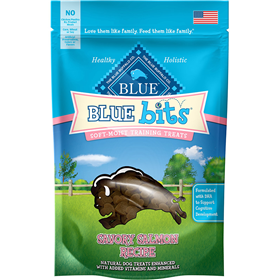 Blue Bits Savory Salmon Soft-Moist Training Treats 4 oz. I013775