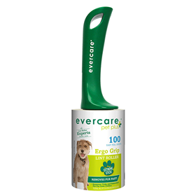 Evercare Pet Plus Ergo Grip Lint Roller 100 Sheets I014349