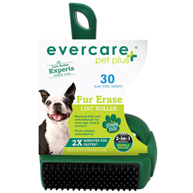 Evercare Pet Plus Fur Erase Lint Roller 30 Sheets I014355
