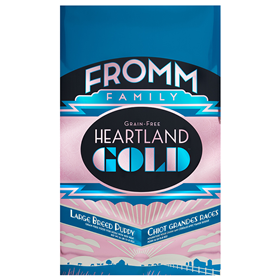 Fromm Family Grain Free Heartland Gold Large Breed Puppy I014601b