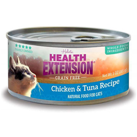 Health Extension Grain Free Chicken & Tuna Recipe for Cats 3 oz. I014953