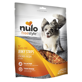 Nulo Freestyle Jerky Strips Chicken Recipe with Apples 5oz. I015068