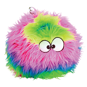 GoDog Rainbow Furballz with Chew Guard I015248b