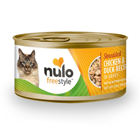 Nulo Freestyle Shredded Chicken & Duck Recipe In Gravy Cat & Kitten Food 3 oz  I016372