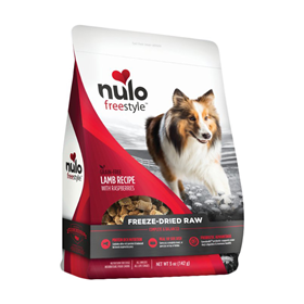 Nulo Freestyle Grain Free Freeze Dried Raw Lamb Recipe With Raspberries Dog Food 5oz I016376