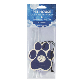 One Fur All Pet House Car Air Freshener Moonlight I016780