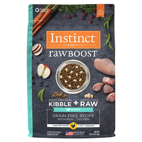 Instinct Raw Boost Grain-Free Recipe with Real Chicken for Puppies I017285