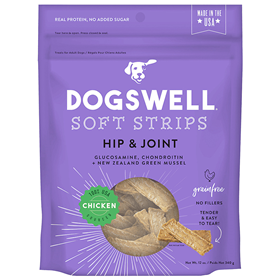 Dogswell Hip & Joint Chicken Soft Strips 12 oz  I017723