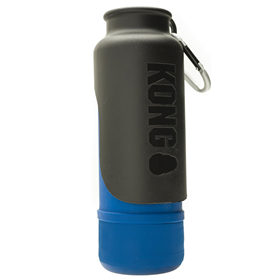 KONG H2O Stainless Steel Insulated Dog Water Bottle Blue 25 oz. I018209