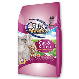 NutriSource Cat & Kitten Chicken & Rice Formula Cat Food  I018785b