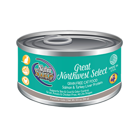 NutriSource Great Northwest Select Grain Free Cat Food 5.5 oz I018810