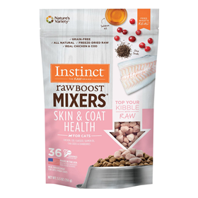 Nature's Variety Instinct Raw Boost Mixers Skin & Coat Health for Cats I019583b