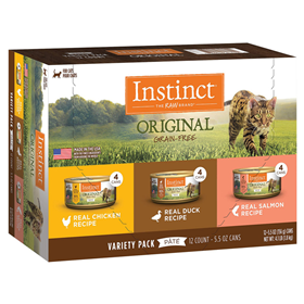Instinct Original Can Variety Pack 5.5 oz 12 ct  I019692