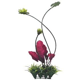 Fluval Chi Lillypad & Plant Grass Ornament Z01556112196