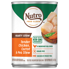 Nutro Hearty Stews Healthy Chicken & Rice Stew Chunks in Gravy Canned Dog Food 12.5 oz. 92576