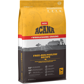 ACANA Free-Run Poultry Recipe with Wholesome Grains Dog Food I021981b