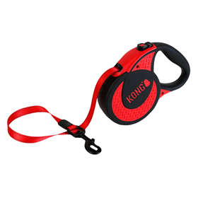 KONG Ultimate 16' Retractable Leash Red I022080