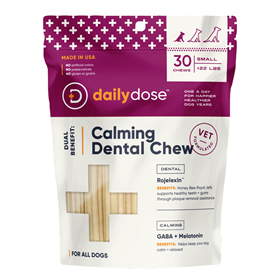 Daily Dose Calming Dental Chew for Dogs I023005b