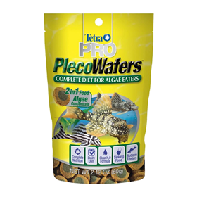 Tetra Pleco Wafers Complete Diet for Algae Eaters 2.12 oz Z04679816447